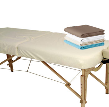 Flannel Fitted Massage Table Sheet Earthlite Australia