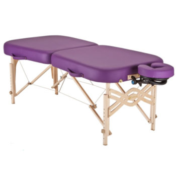 EarthLite Infinity Massage Table.